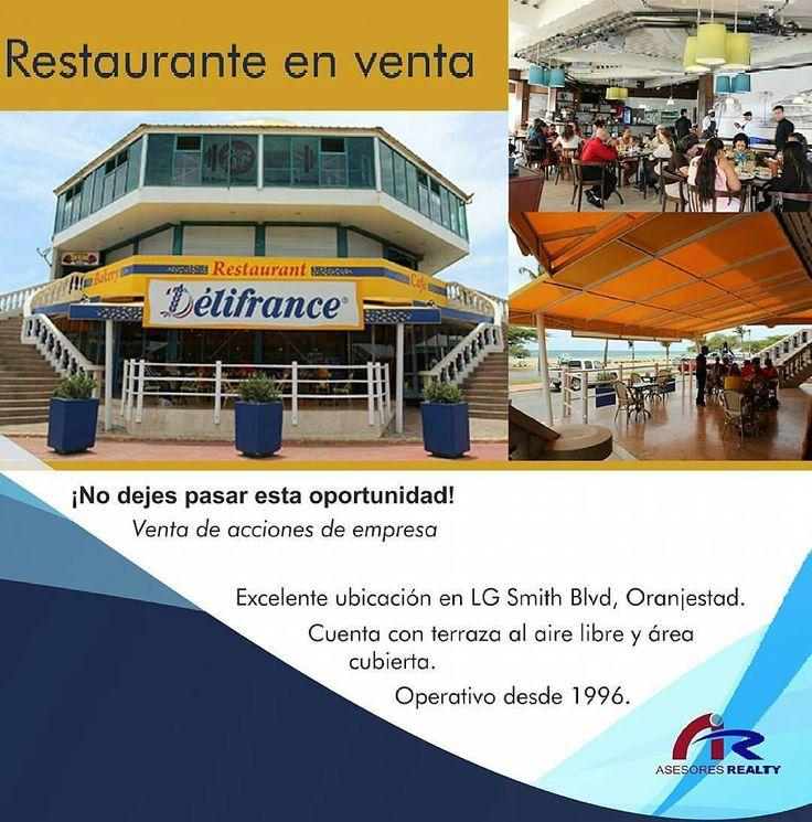 #Comparte  @asesores_realty  No dejes pasar esta oportunidad única! Restaurante de la franquicia Delifrance a la #Venta en la mejor ubicación de la isla de #Aruba Qué esperas? #asesoresrealty #promo #restaurant #food #instafood