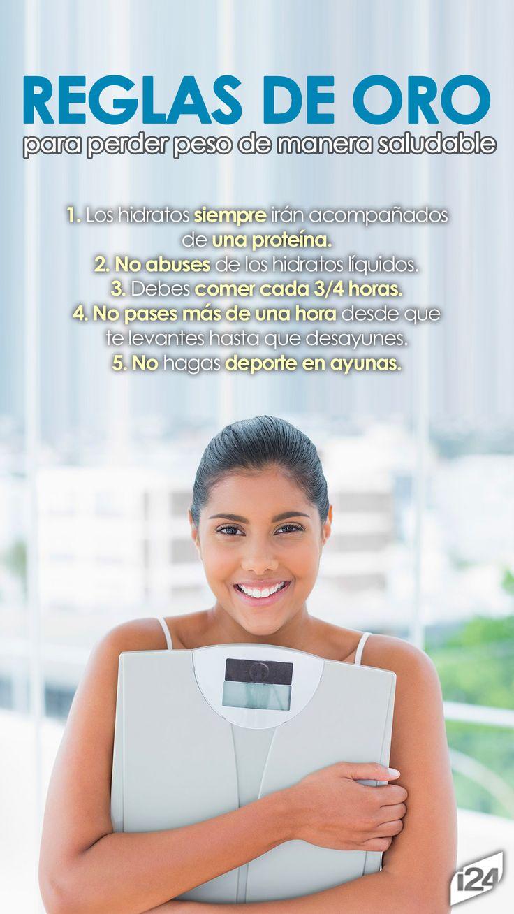 Pierde peso de forma saludable -3peso #Dieta #Diet #Rules
