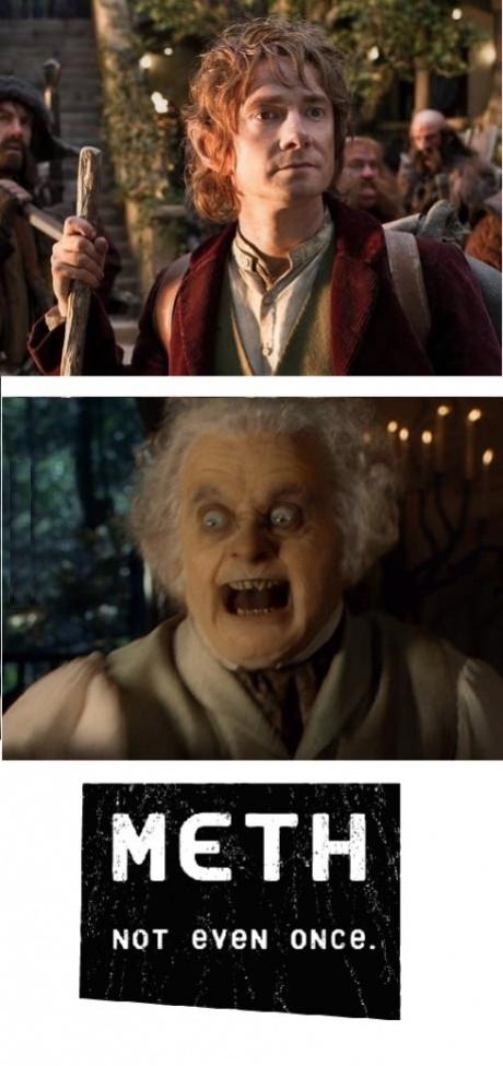 The Hobbit, meth, not even once, bilbo baggins