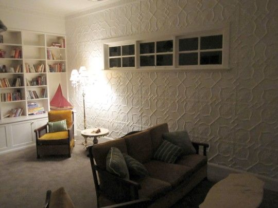 pressed metal wall panels - love!