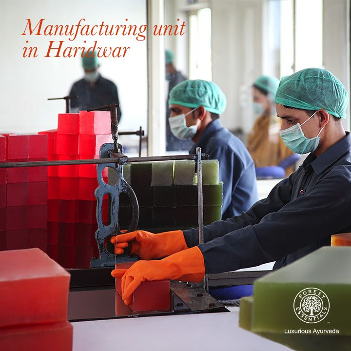 Our manufacturing unit in Haridwar comprises of a Research & Development lab which has globally acceptable QC standards certified by the Estee Lauder group.