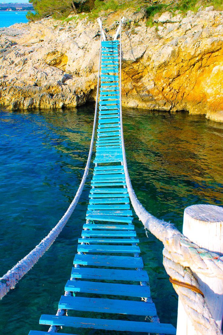 Svjetionik bridge Punta Christo. Pula, Croatia. 2018 | V's ...