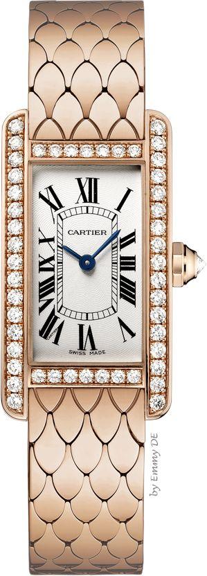 Emmy DE * Cartier 'Tank Américaine' 18K pink gold