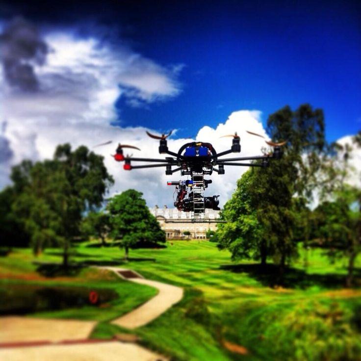 Aerial camera in #scotland