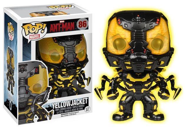 Ant-Man - Yellowjacket Glow Pop! Vinyl Figure
