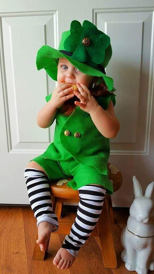 Baby Leprechaun Costume Leprechaun Photo by MYSWEETCHICKAPEA