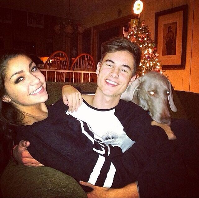 Former boyfriend and girlfriend: Kian Lawley and Andrea Russett