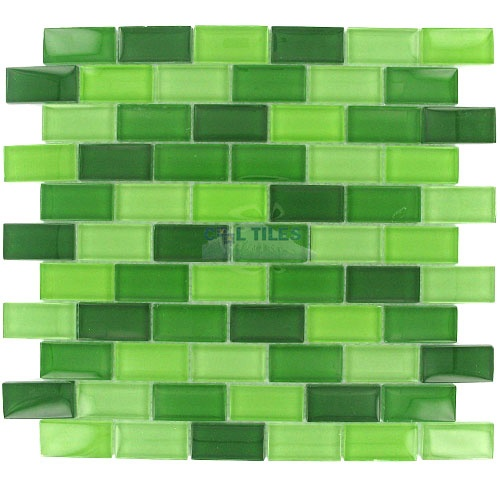 Green Kitchen Backsplash: Green Kitchen Backsplash
