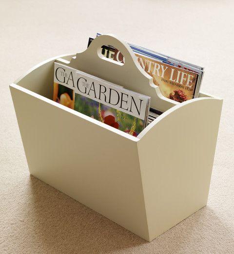 Magazine holder - The Dormy House