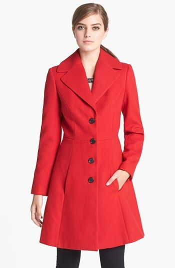Robbi & Nikki Flared Coat available at #Nordstrom