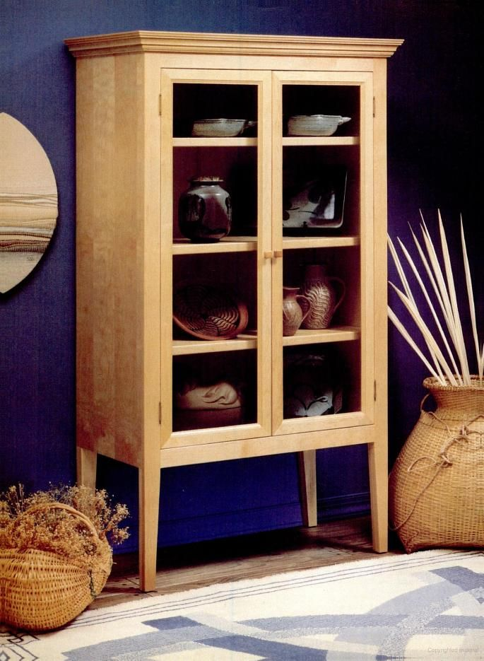 Wood Display Case Plans Free Woodworking Projects Plans