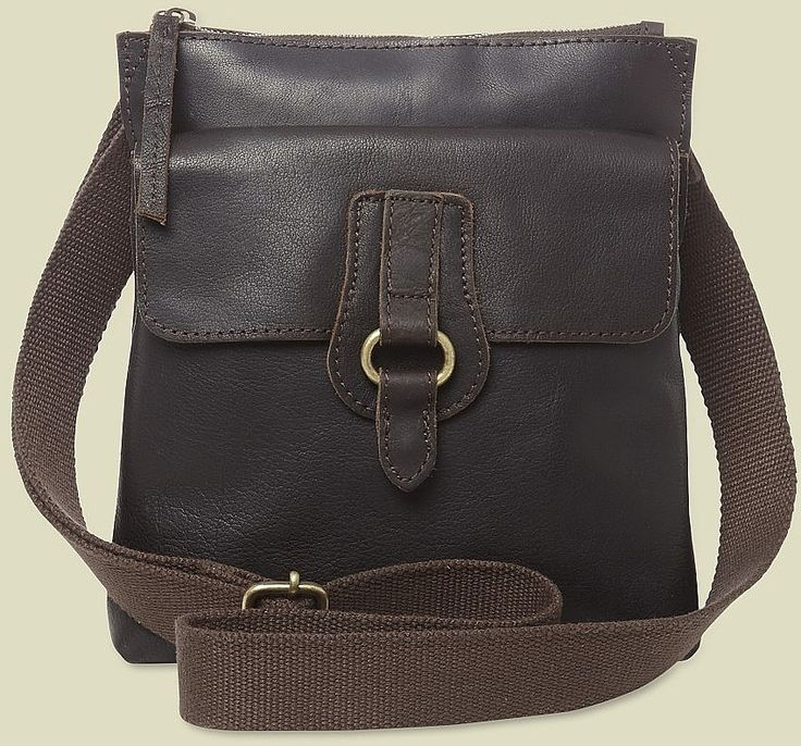 Womens dark brown hannah crossbody bag from White Stuff - £55 at ClothingByColour.com