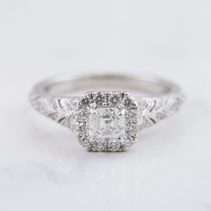 shop tw gold in asscher three royal ct deal alert ring diamond white stone engagement