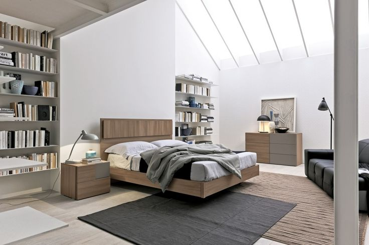 Olmo Storm Sunset Bed | ColombiniCasa