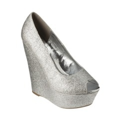 De Blossom Kay Glitter Wedge - How Space Age of you...