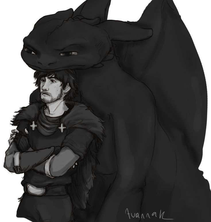 He'll make a very intimidating chief...maybe Toothless helps with that.
