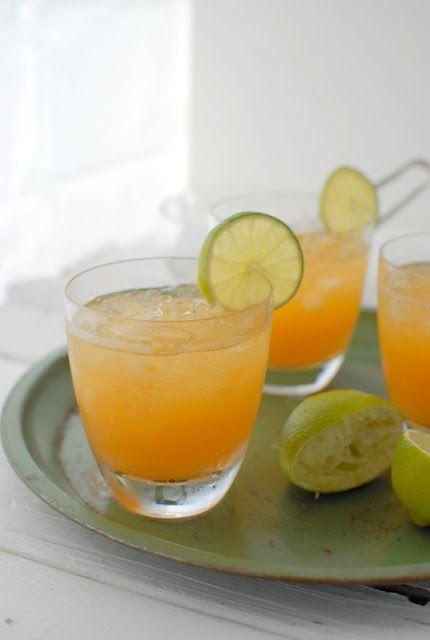 Peach Margarita: Recipe, Peaches Margaritas, Food, Cocktails, Fresh Peaches, Drinks, Peach Margarita, Peaches Spritzer, Spritzer Non Alcohol