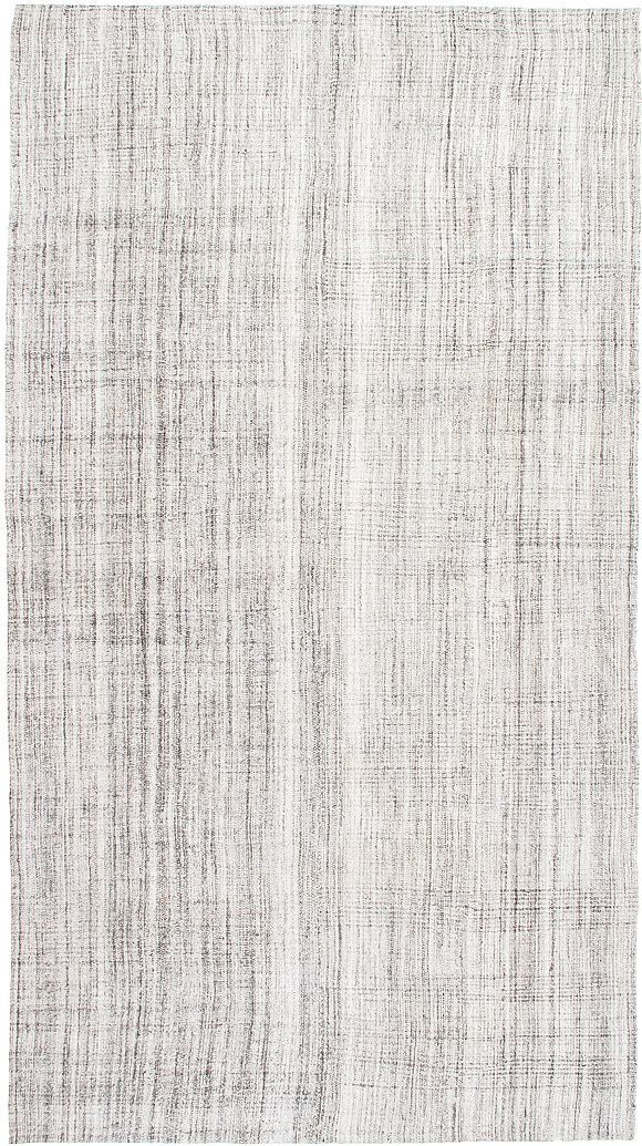 Mid century minimalist Kilim made from mixed Cotton, Goat hair and wool.