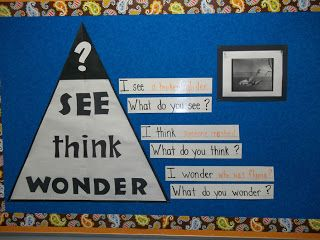 cool bulletin board to start inquiry questioning
