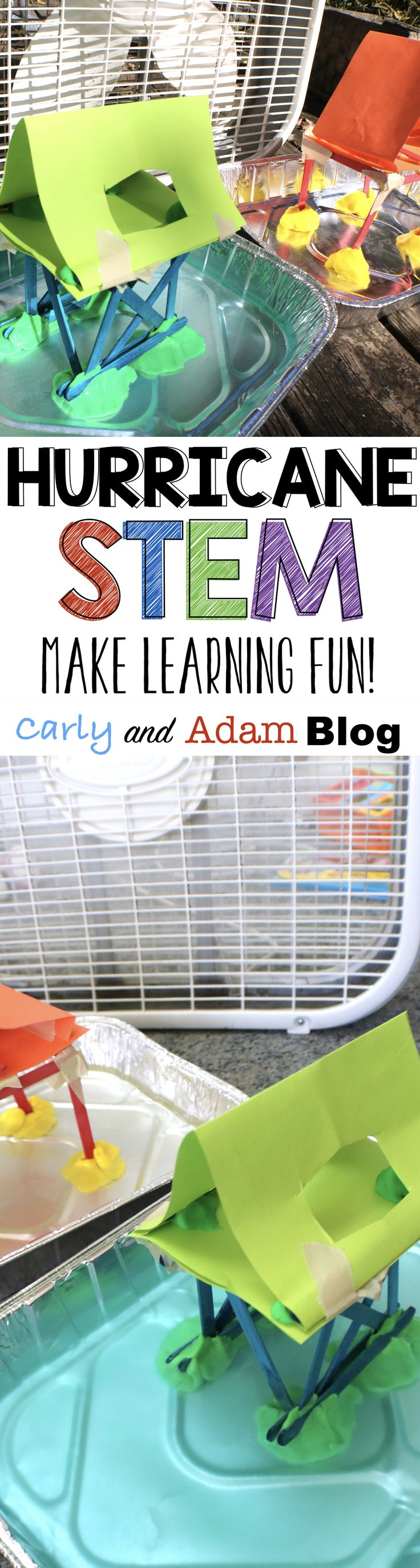 Make learning fun! This activity is perfect to use to teach students about hurricanes and hurricane safety by designing a building that will withstand a hurricane simulation.
