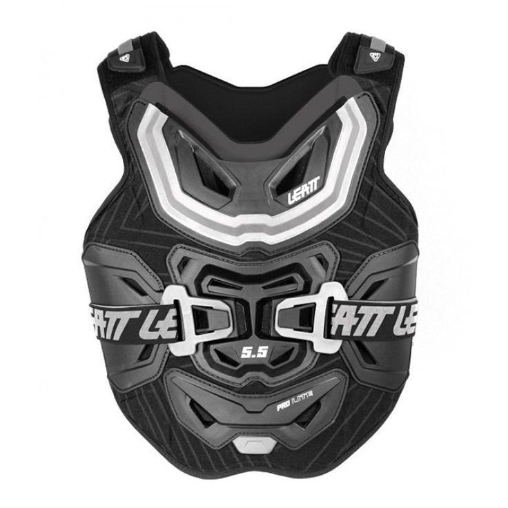 2014 Leatt 5 5 Chest Protector Pro Lite - Black - 2014 Leatt Body Protection - 2014 Motocross Gear - by Leatt - 2014 Leatt 5