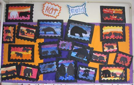 Hot And Cold Classroom Display Primary Classroom