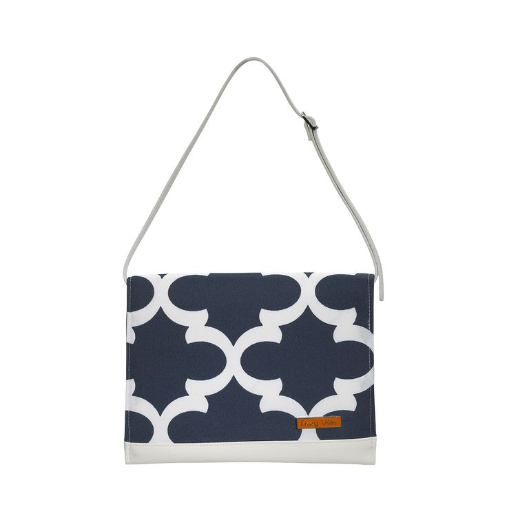 Statement Clutch - Zigzag - blue. by VIDA VIDA sBBBq
