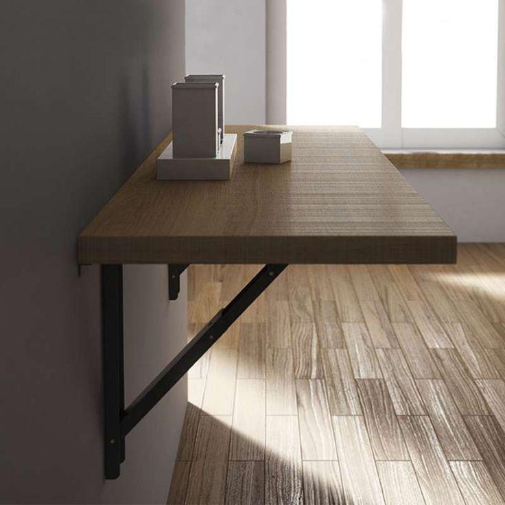table de cuisine fixe au mur good table de cuisine fixee au mur table de cuisine fixace au mur. Black Bedroom Furniture Sets. Home Design Ideas
