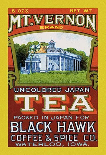 Mt. Vernon Brand Tea