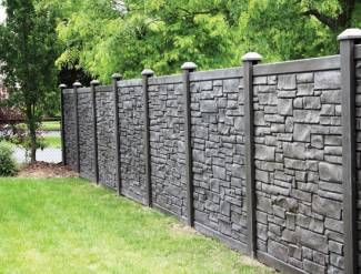 Simtek Fence Vinyl Fence For The Home Pinterest