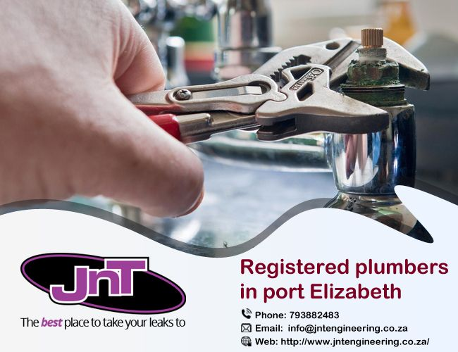 http://bit.ly/2hMUWkb We are registered plumbers in Port Elizabeth that work to the best of our potential and believe in offering superior #plumbing #services.