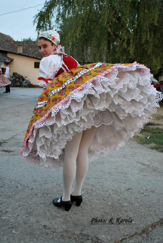 Hungarian folk costume - Explore the World with Travel Nerd Nici, one Country at a Time. http://TravelNerdNici.com