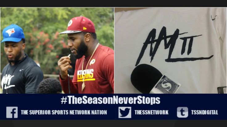 THE SUPERIOR SPORTS NETWORK VISITS ANTHONY LANIER FOOTBALL CAMP2017