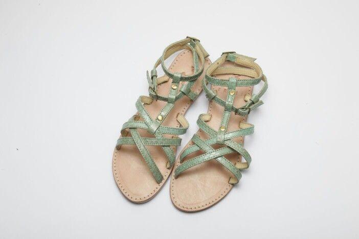 xristina veraman ( handmade leather sandal )