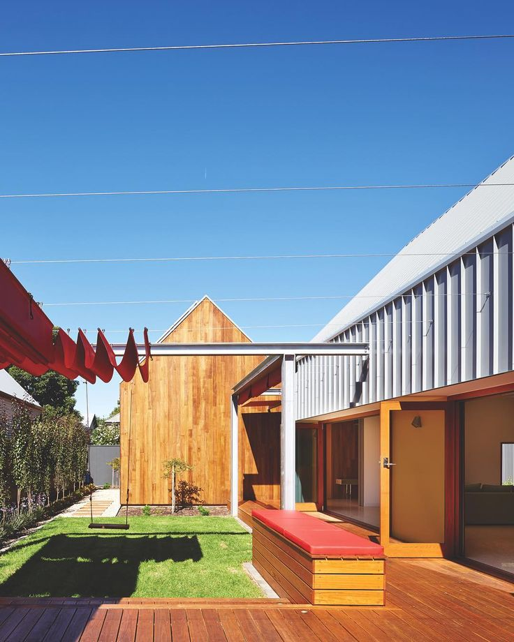 Crayon House is an architectural triple threat: playful, practical and sustainable. Designed by Grieve Gillett Andersen. In our current issue. Photo by @sam_noonan_photo @grievegillettandersen