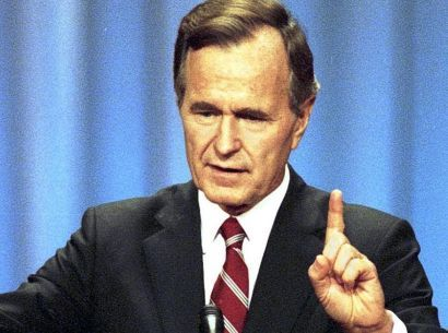 """Read my lips: no new taxes"" was a pledge spoken by presidential candidate George H. W. Bush at the 1988 Republican National Convention as he accepted his party's nomination. The impact of the election promise was considerable, and many supporters of Bush believe it helped him win the presidential election. As presidents sometimes must, Bush raised taxes. His words were used against him by then-Arkansas Governor Bill Clinton in a devastating attack ad during the 1992 presidential campaign…"