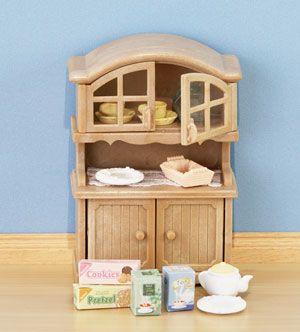 Sylvanian Familes Kitchen Cabinet Set