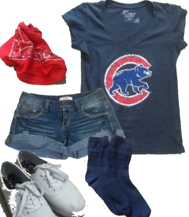 Perfect summer camp outfit