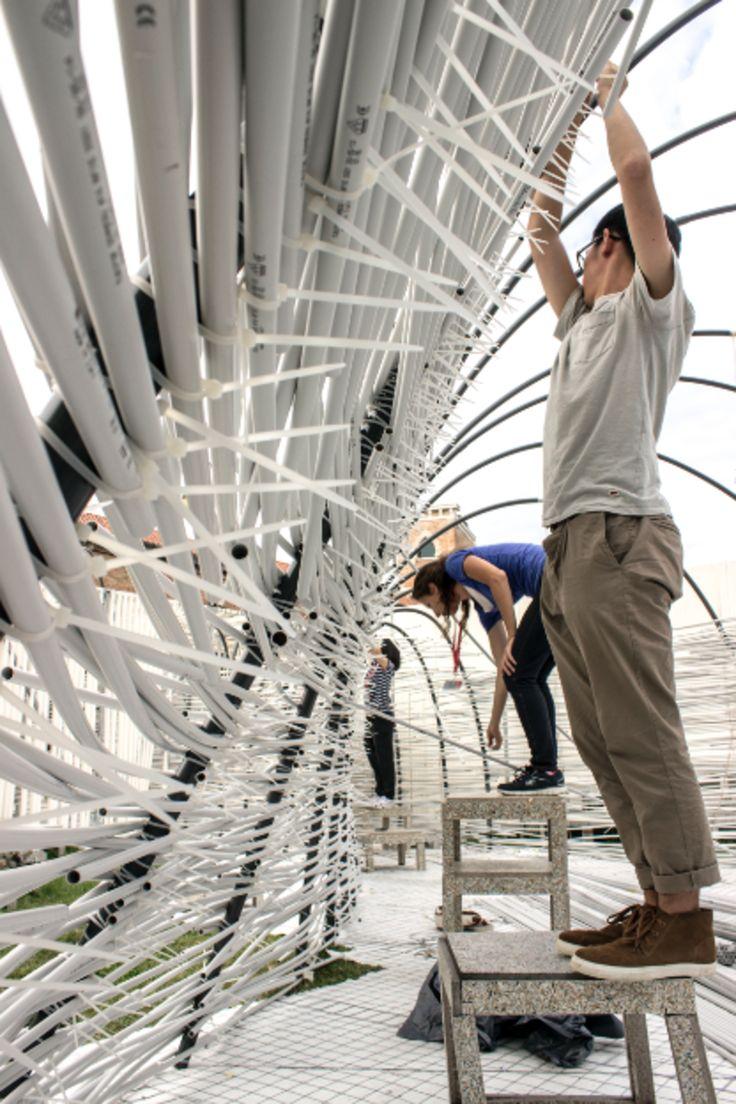 TCA Think Tank, Martin Huba, Marco Cappelletti · Parasite Pavilion · Divisare