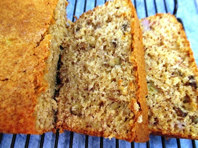 food and thrift: Paula Deen's Banana Nut Bread...and Awards