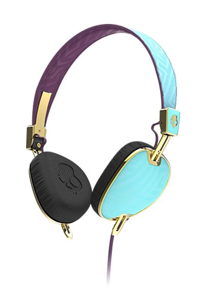 Skullcandy Headphones - designed specifically for women.  The makers claim that women prefer deeper bass tones and more natural vocals.