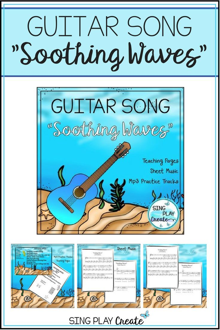 Guitar Song In G Soothing Waves Original And Easy 1 Finger Chord
