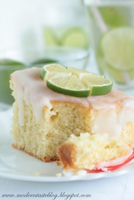 Modern Taste: Gin & Tonic Cake, cake for adults only