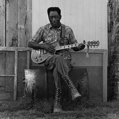 R.L. Burnside  Holly Springs, Mississippi, 1990