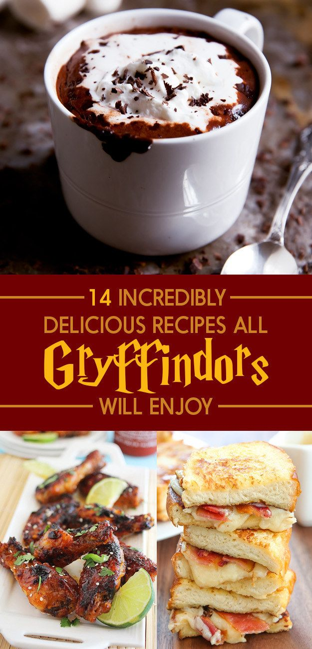 264 best harry potter inspired food ideas images on pinterest 14 delicious recipes thatll satisfy every gryffindors appetite harry potter forumfinder Images