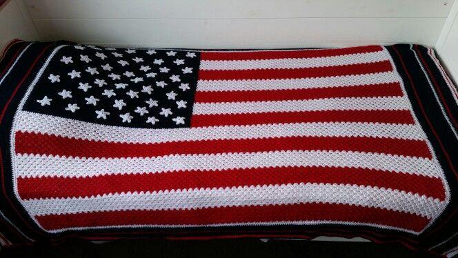 Amerikaanse vlag sprei