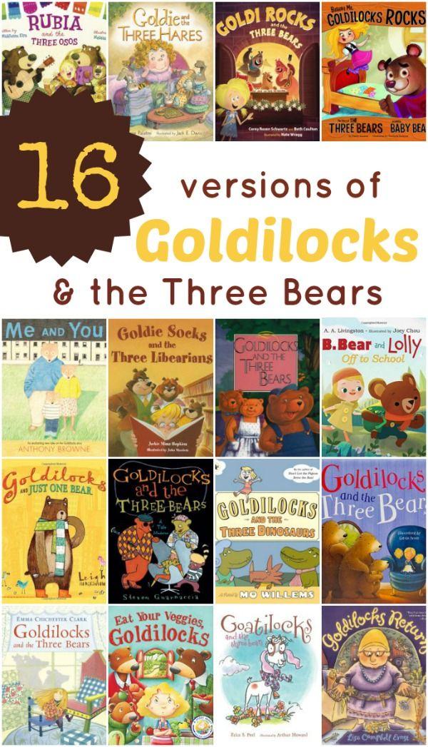Goldilocks and the Three Bears Books