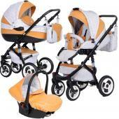 Vikalex детская коляска 3 в 1 vikalex porta vita  — 33999р. ---- производитель: vikalex  особенности коляски 3 в 1 vikalexporta vita: однаиз самых популярных, гармонично сочетающих в себе качество, функциональность и стиль, модель!отличная особенность колясок – надувные поворотные колеса разных диаметров, обеспечивают высокую всесезонную проходимость и хорошую амортизацию. такая коляска не застрянет в грязи и смело пройдет по глине. регулируемой родительской ручкой можно свободно…