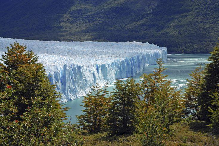 Perito Moreno Glacier in southwest Santa Cruz province, Argentina | 25 Surreal Places You Won't Believe Actually Exist