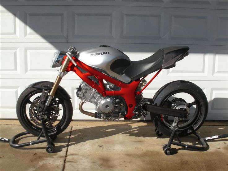 SV650. Can't get much more naked than that!